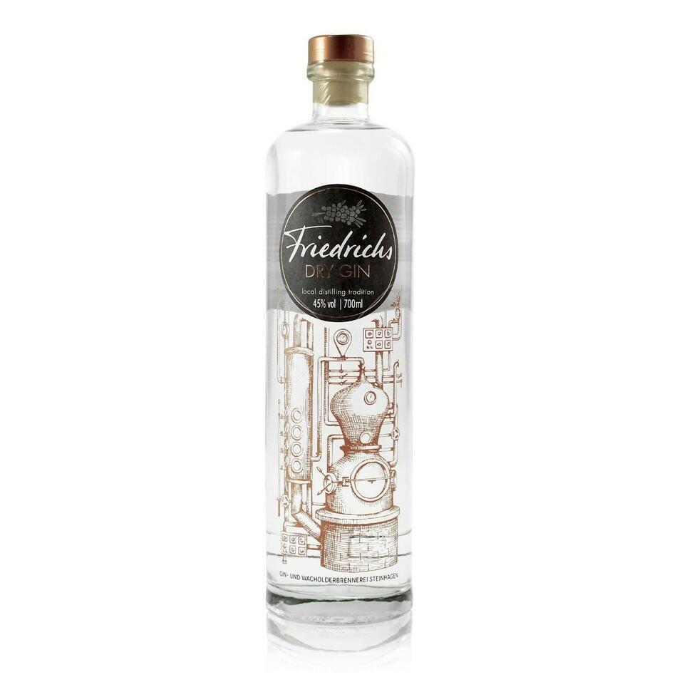Friedrichs Dry Gin Fl 70