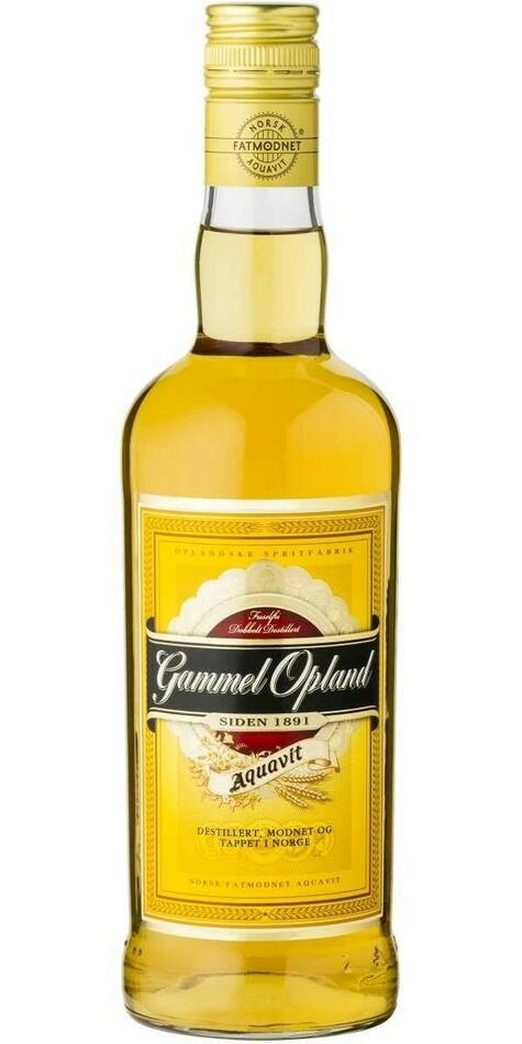 Image of   Gammel Opland Aquavit* Fl 100