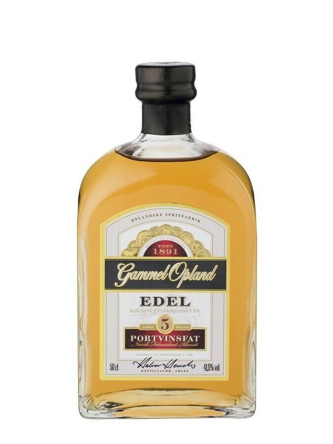 """Image of   Gammel Opland """"Edel"""" Port Cask Fl 50"""