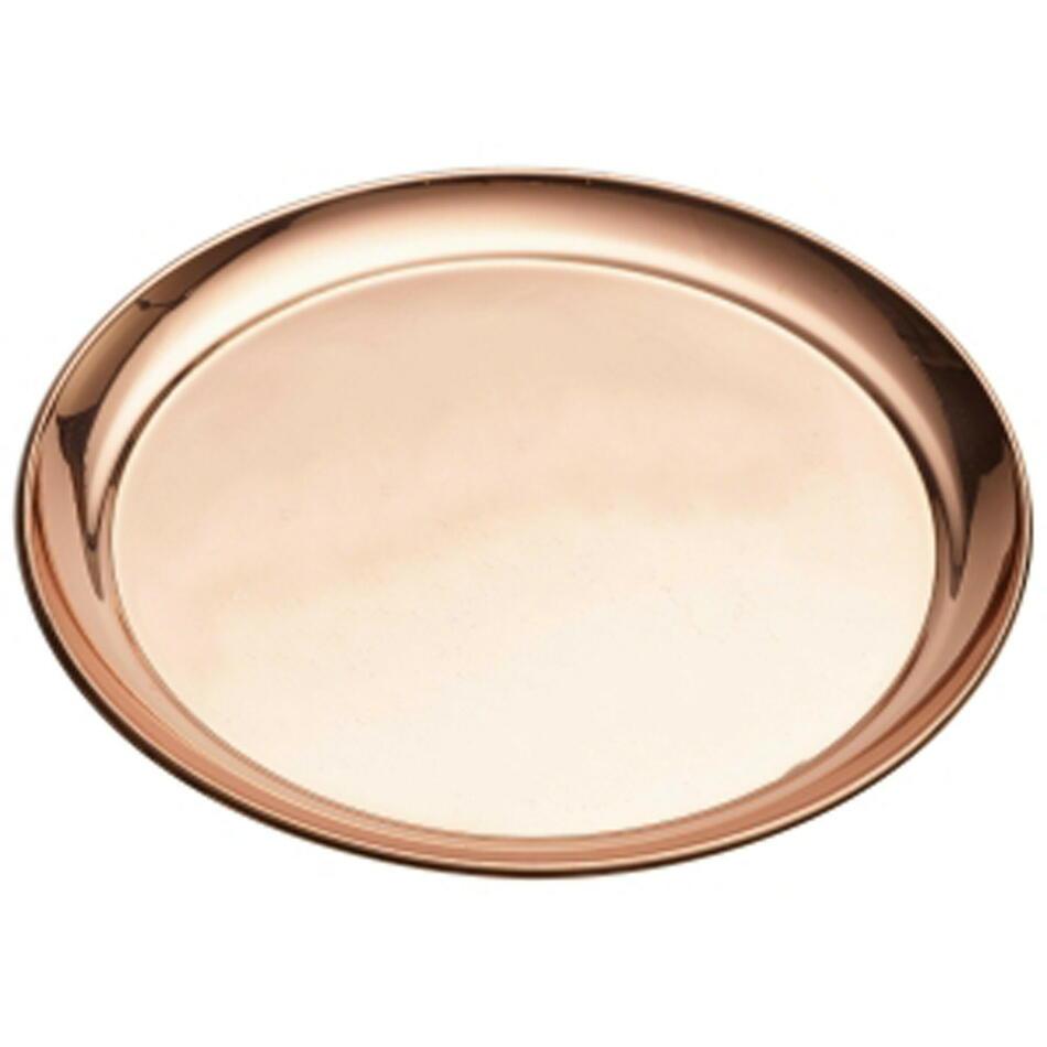 Image of   Genware Rund Copper Bakke 30cm