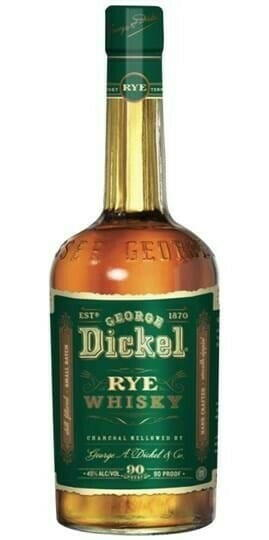 Image of   George Dickel Rye Whisky* Fl 100