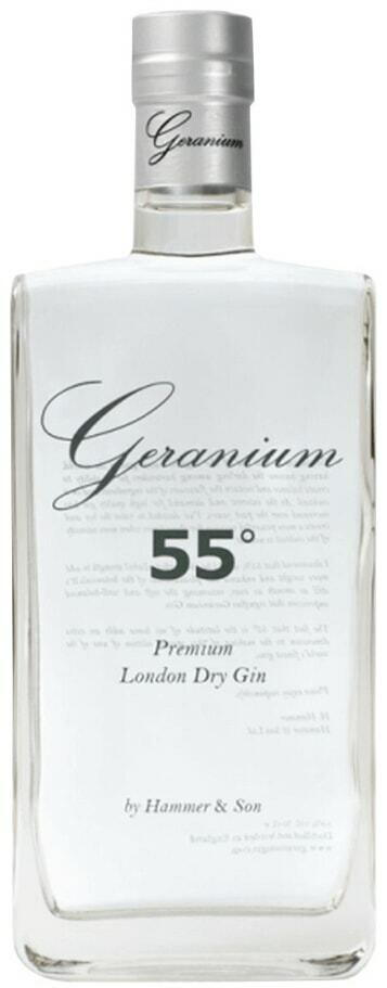 Image of   Geranium 55 Gin Fl 70cl