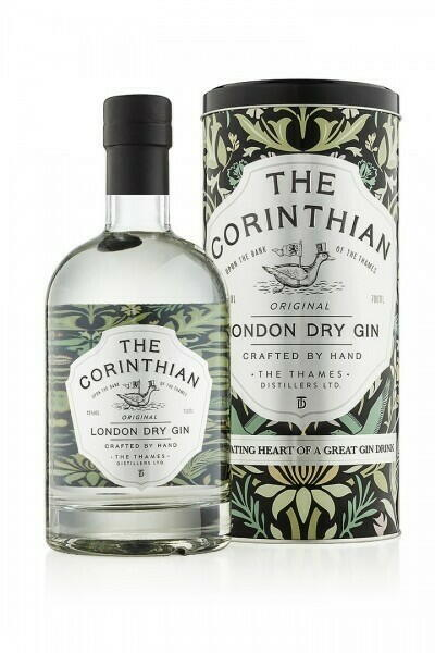 The Corinthian Original London Dry Gin Fl 70