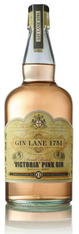 Image of   Gin Lane 1751 Victoria Pink Gin Fl 70cl