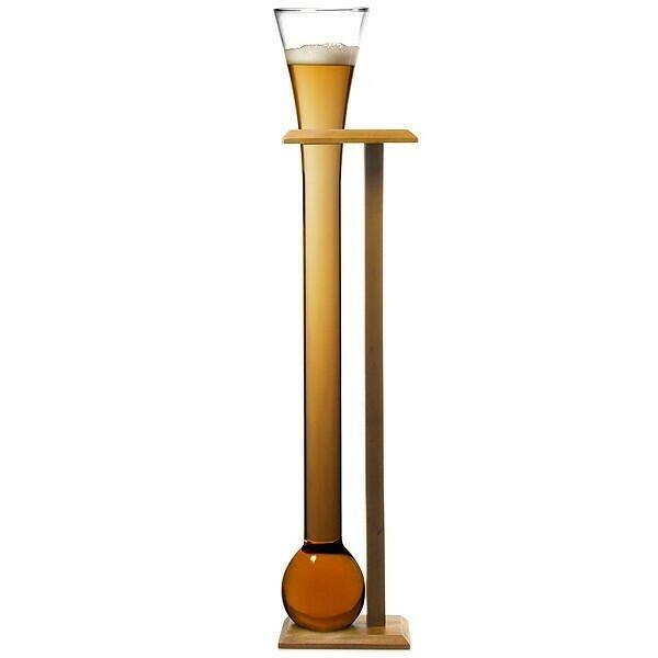 Glas Yard Of Ale Med Stander