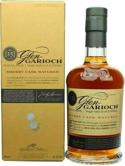 Image of   Glen Garioch 15 Yo Sherry Cask Single Malt Fl 70