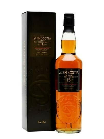 Image of   Glen Scotia 15 Yo Campbeltown Single Malt Fl 70