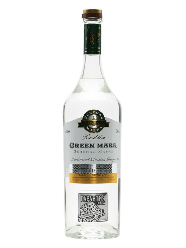 Green Mark Rye Vodka Fl 70