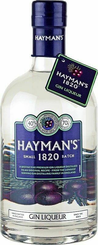 Hayman's 1820 Gin Liqueur Fl 50