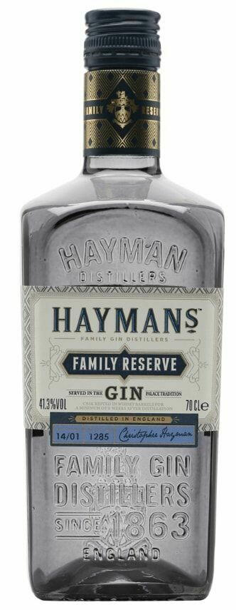 Image of   Hayman's Family Reserve Gin Fl 70cl