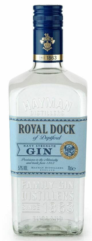 Hayman's Royal Dock Navy Strength Gin Fl 70