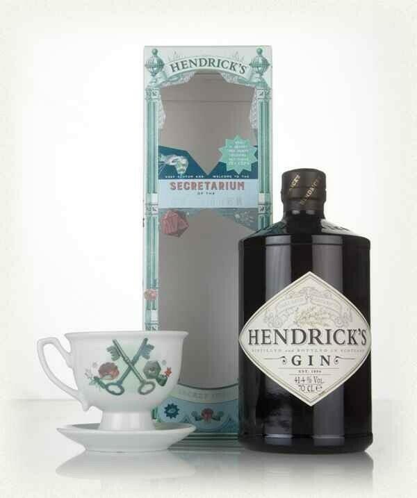 "Hendricks Gin ""Secretarium Of The Cucumber"" Gb Fl 70"