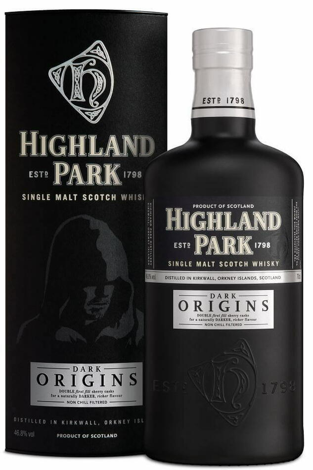 "Highland Park ""Dark Origins"" Single Malt Scotch Fl 70"