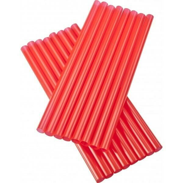 Image of   sugerør 8x160mm (*uden knæk) røde 250 stk