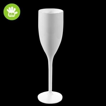 Image of   Champagne glas hvid 15 cl