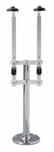 Image of   Flaskeholder Single Pillar Fixed 2 70cl / 1 liter