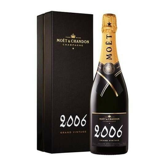 Image of   Moët & Chandon Champagne Vintage 2006 (Giftbox) 0,7 liter5 Ltr