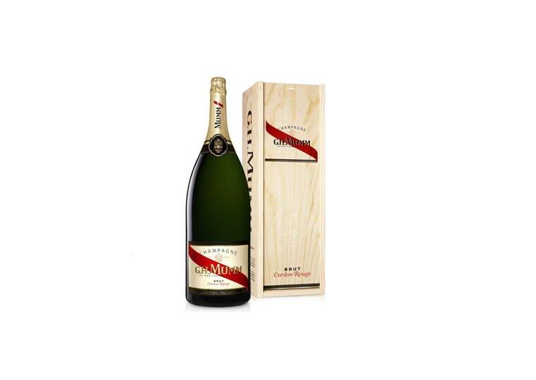 Image of   Mumm Champagne Cordon Rouge Brut (Salmanazar) Fl 900