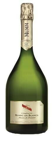 "Image of   Mumm Champagne Blanc De Blancs ""Mumm De Cramant"" 0,7 liter5 Ltr"