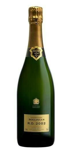 Image of   Bollinger Champagne R.D. 2002 0,7 liter5 Ltr