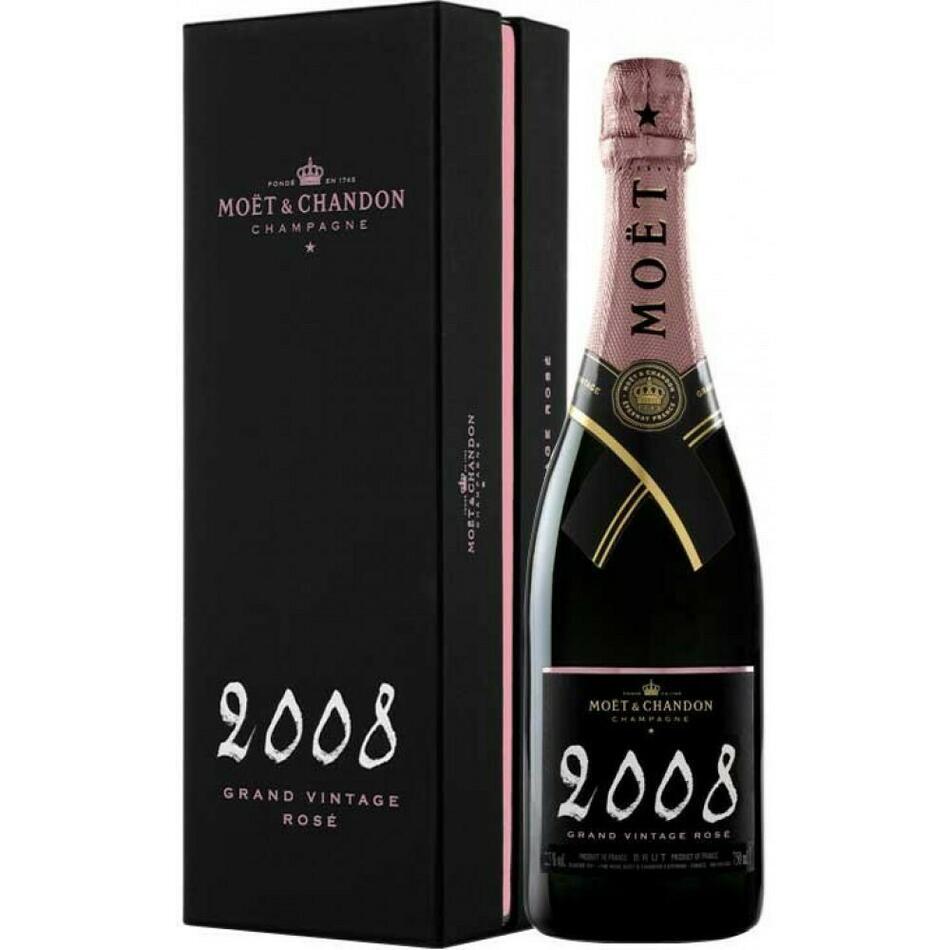 Image of   MoÃ«t & Chandon Champagne Vintage Rosé 2008 0,7 liter5 Ltr