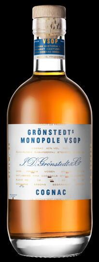 """Image of   Grönstedts """"Monopole"""" Vsop Cognac Fl 70"""