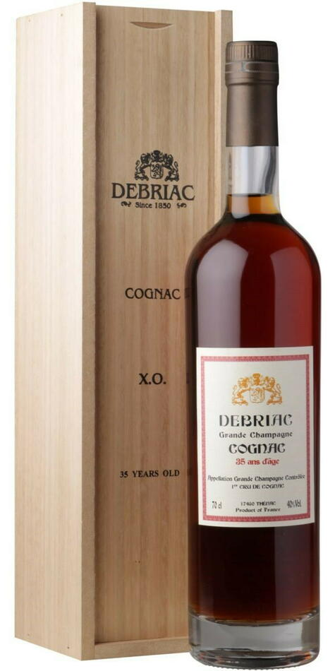Image of   Debriac Grande Champagne 25 Yo Cognac Fl 70