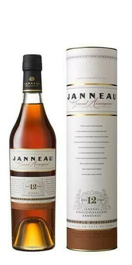 Image of   Armagnac Janneau 12 Yo Single Distillery Fl 50