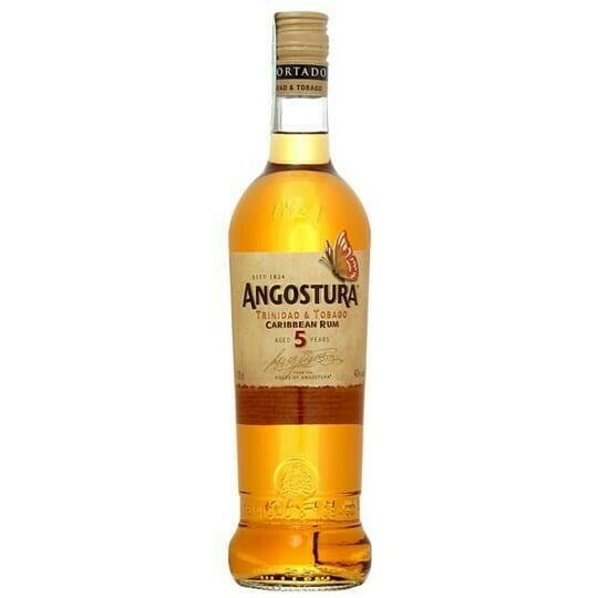 Image of   Angostura 5 Yo Gold Fl 70