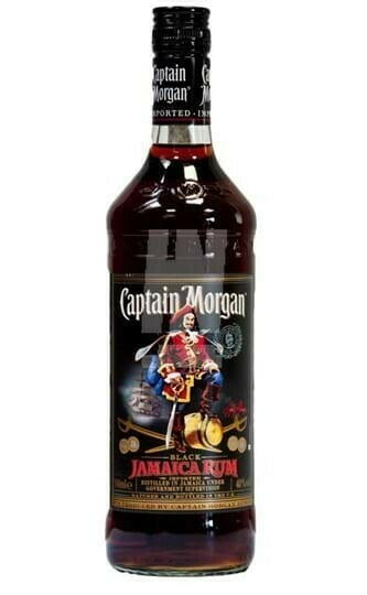 Image of   Captain Morgan Black Jamaica Rum* 1 Ltr