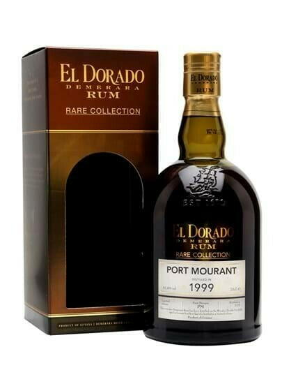 "Image of   El Dorado ""Rare Collection"" Port Mourant 1999 Fl 70"