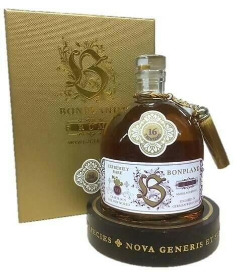 Image of   Bonpland 16 Yo Trinidad Distillery Rhum Fl 50