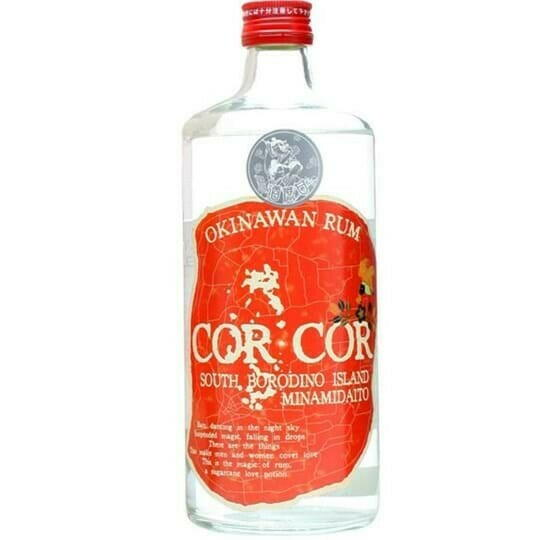 Image of   Cor Cor Red Label Okinawan Rum Fl 70