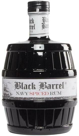 Image of   A.H. Riise Black Barrel Navy Spiced Rum FL 70