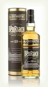 Image of   Benriach Curiositas 10 Yo Peated Single Malt Fl 70