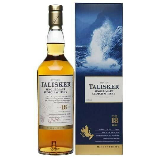 Image of   Talisker 18 Yo Single Malt Fl 70