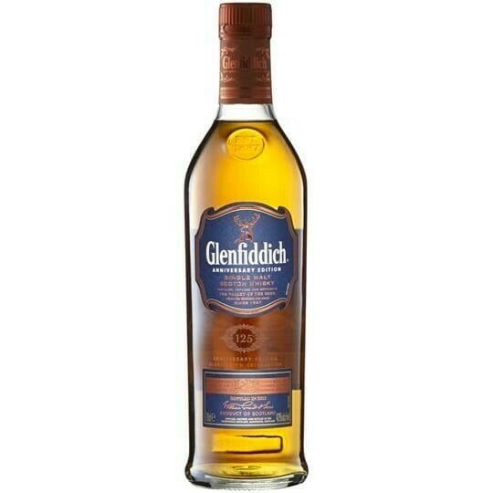 Image of   Glenfiddich 125 Anniversary Edition Fl 70