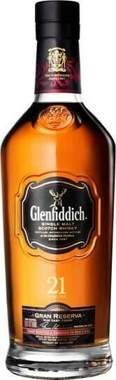 Image of   Glenfiddich 21 Reserva Rum Cask Single Malt Fl 70
