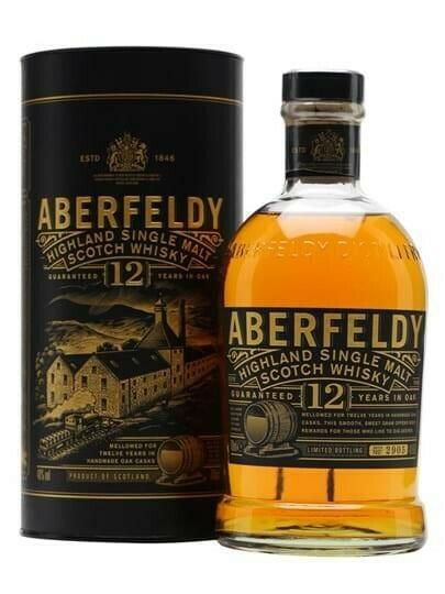 Image of   Aberfeldy 12 YO Highland Single Malt FL 70