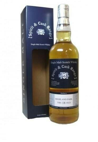 Image of   Spirit & Cask Highland Park 18 Yo Fl 70