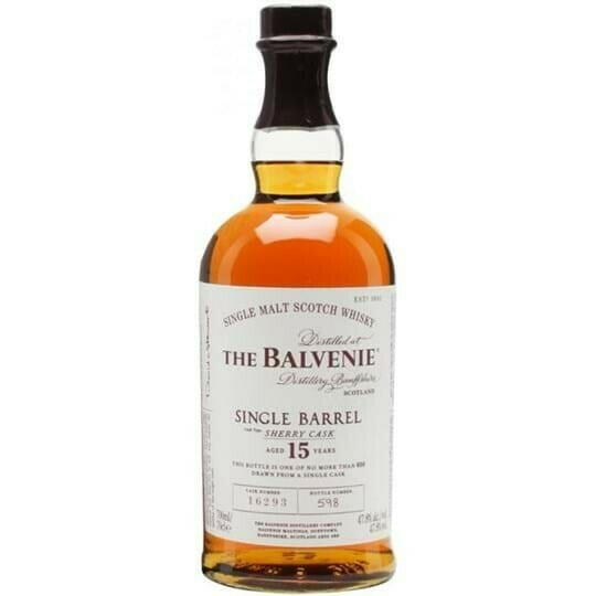 Image of   Balvenie Single Barrel 15 Yo Speyside Single Malt Fl 70