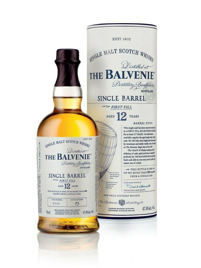 "Image of   Balvenie Single Barrel 12 Yo ""First Fill"" Fl 70"