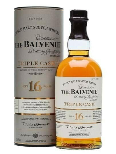 Image of   Balvenie Triple Cask 16 Yo Speyside Single Malt Fl 70