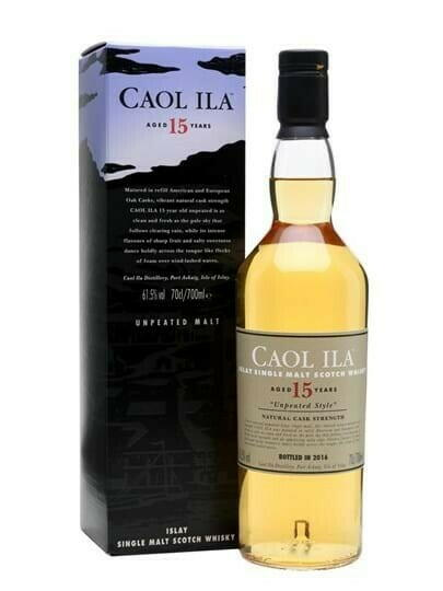 Image of   Caol Ila 15 Yo Unpeated Islay Single Malt Fl 70