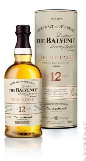 Image of   Balvenie Triple Cask 12 Yo Speyside Single Malt 1 Ltr