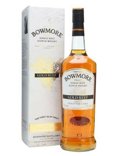 "Image of   Bowmore ""Gold Reef"" Islay Single Malt* 1 Ltr"