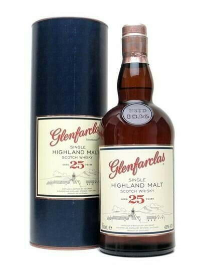 Image of   Glenfarclas 25 Yo Speyside Single Malt Fl 70