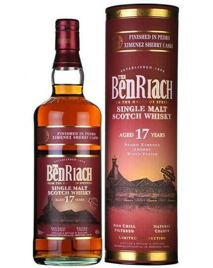 Image of   Benriach Px 17 Yo Speyside Single Malt Fl 70