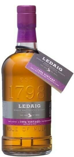 Image of   Ledaig Vintage 1996 Single Malt Scotch Fl 70