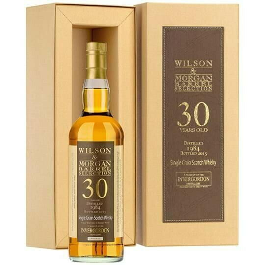 Image of   Invergordon 1984, W&M 30 Yo Single Grain Scotch Fl 70